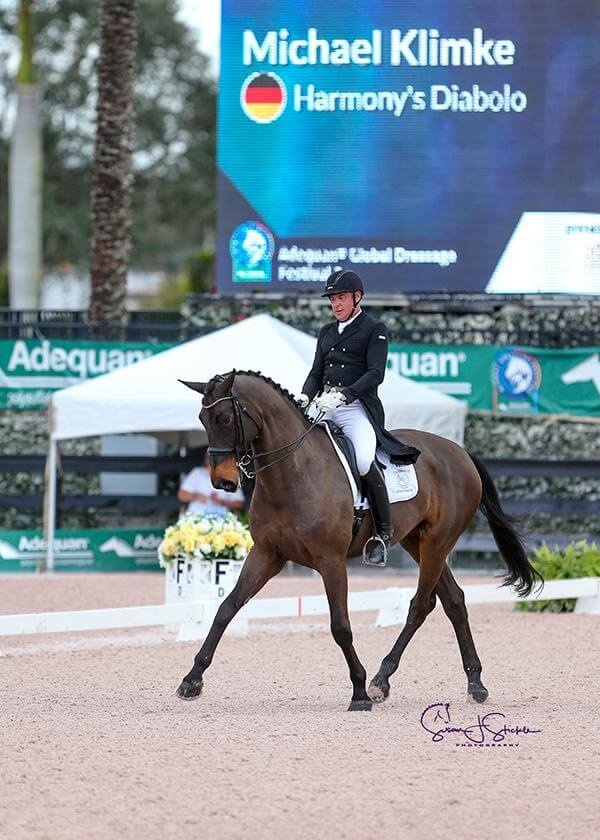 Thumbnail for Klimke wins Intermediate I Freestyle at AGDF; Canada's Creech 3rd