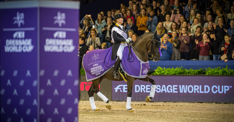 Thumbnail for Isabell Werth and Weihegold Win in Amsterdam