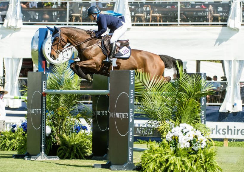 Thumbnail for Ashlee Bond (ISR) Wins $72,000 NetJets Classic at Palm Beach Masters