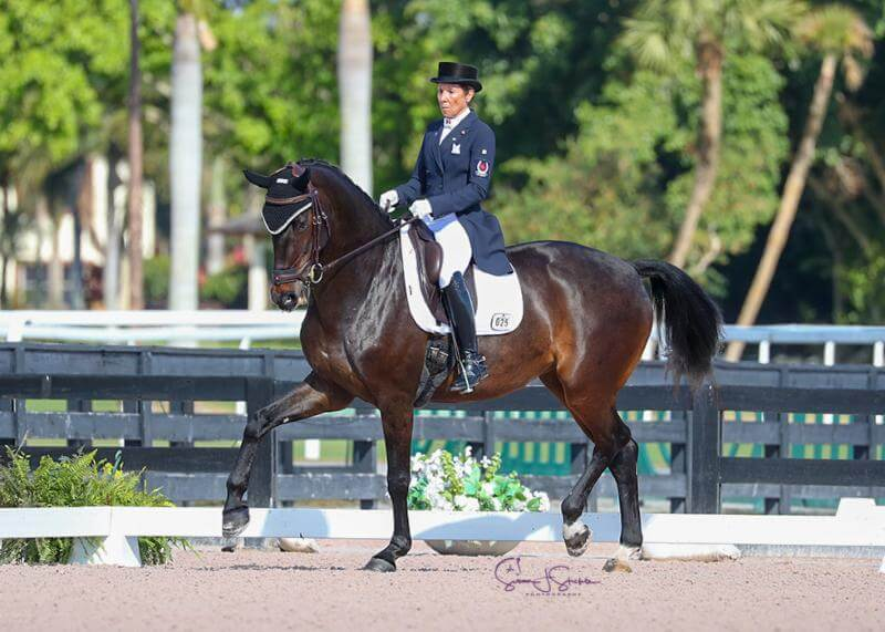 Thumbnail for Christilot Boylen and Rocky Lane win Open FEI Grand Prix at AGDF6