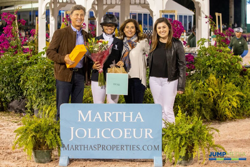Thumbnail for Erynn Ballard Named Martha Jolicoeur Leading Lady Rider at WEF