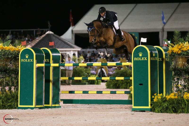 Thumbnail for McLain Ward and HH Azur claim victory in $500,000 Rolex Grand Prix at WEF