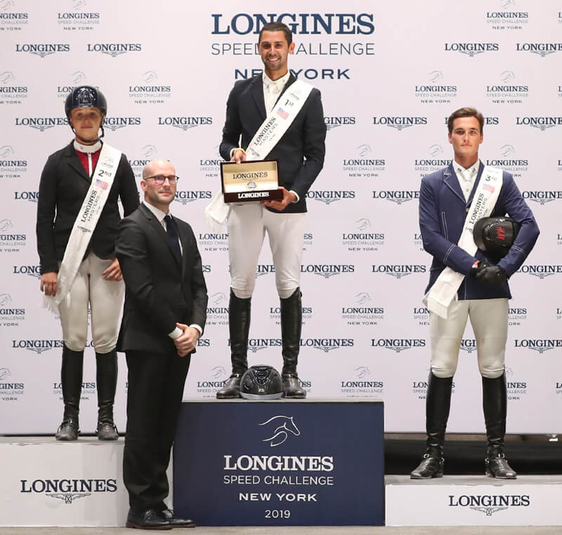 Thumbnail for Nayel Nassar Crowned Master of Longines Speed Challenge