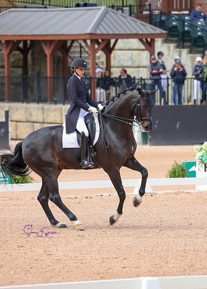 Thumbnail for Canadians Take Second & Third in FEI Grand Prix Special CDI 3* at Tryon