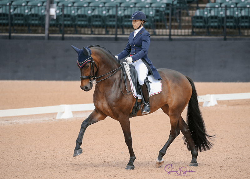Thumbnail for Canada's Jill Irving 2nd in FEI Grand Prix Freestyle CDI 3* at TIEC