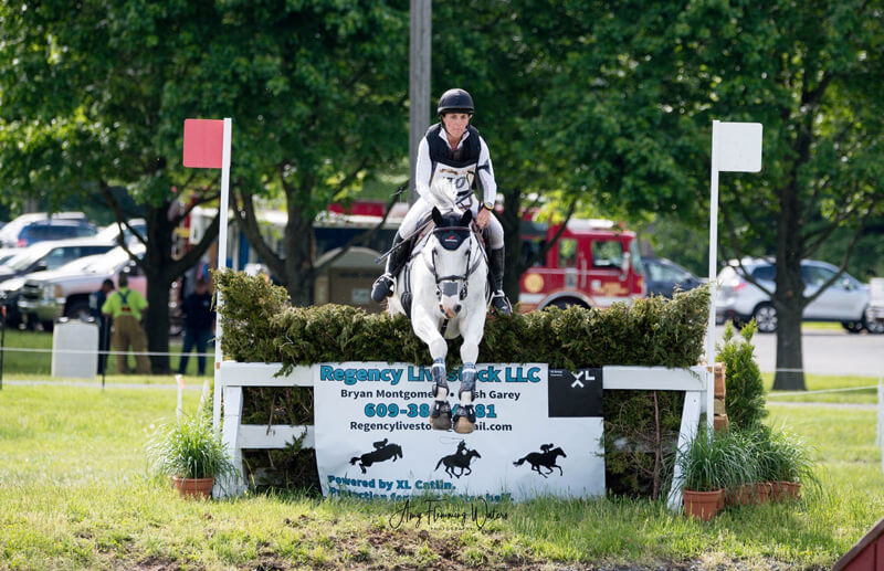 Thumbnail for Dana Cooke Wins CCI3* Short Course at Jersey Fresh