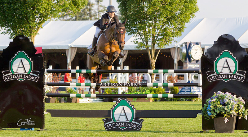 Thumbnail for Tiffany Foster scores hometown win in Artisan Farms Nations Welcome