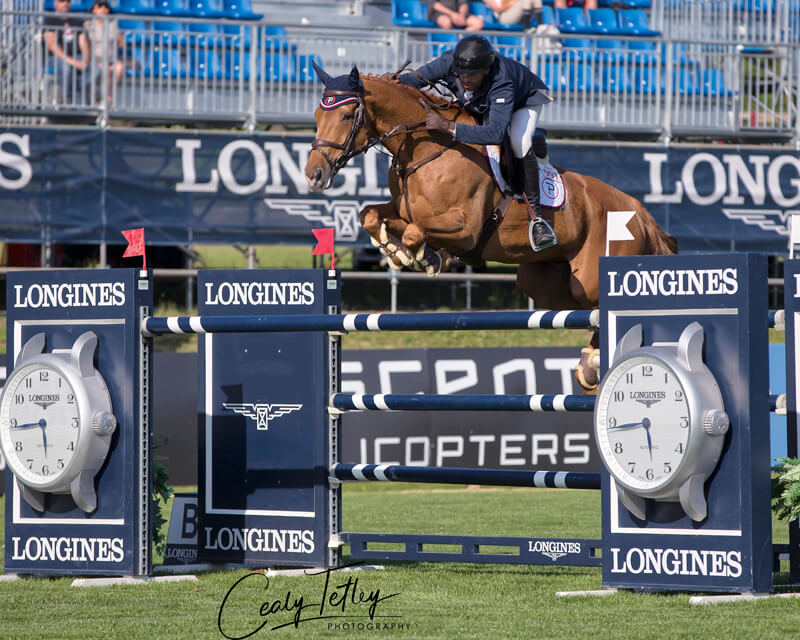 Thumbnail for Pasquel and Babel take $235,000 Longines Grand Prix at BC Open