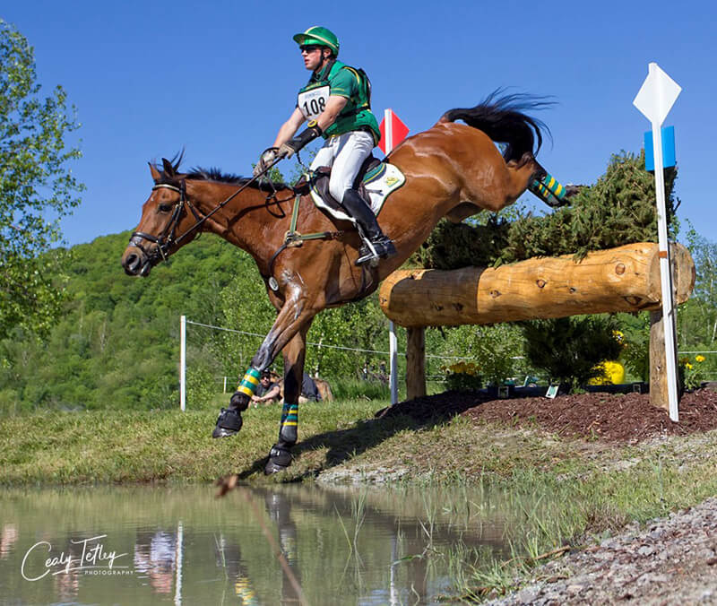 Thumbnail for Karl Slezak Earns 5th Place Finish at Bromont Three-Day Event CCI 4*-L