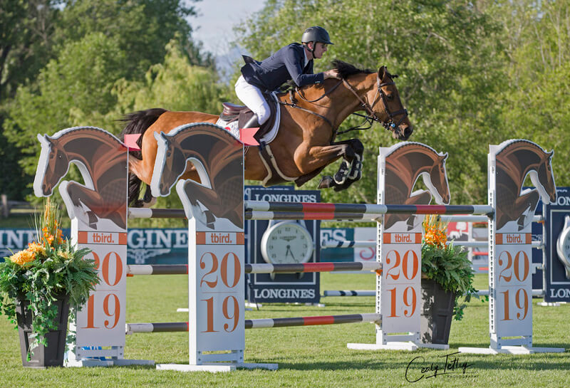 Thumbnail for Daniel Coyle and Cita Win $36,500 CSIO5* tbird Cup in Langley