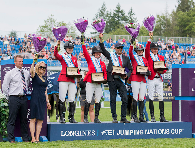 Thumbnail for Canadian Show Jumping Team victorious in Longines FEI Nations Cup