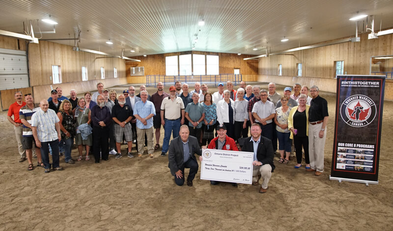 Thumbnail for Wounded Warriors Canada Receives Donation to Equine Therapy Program