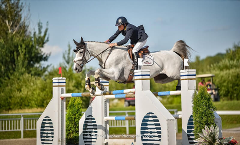 Thumbnail for Leslie Howard Wins Bromont CSI3* Open Welcome