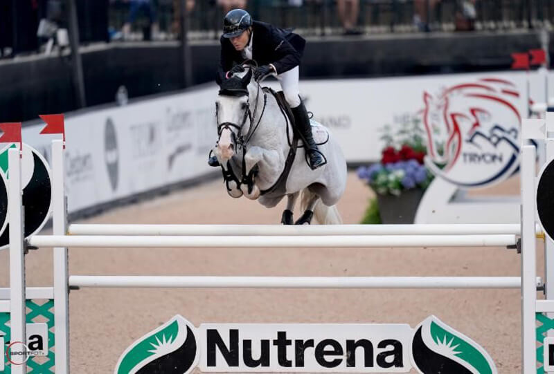 Thumbnail for Sharn Wordley Tops $72,000 Nutrena® Grand Prix CSI 2* at Tryon