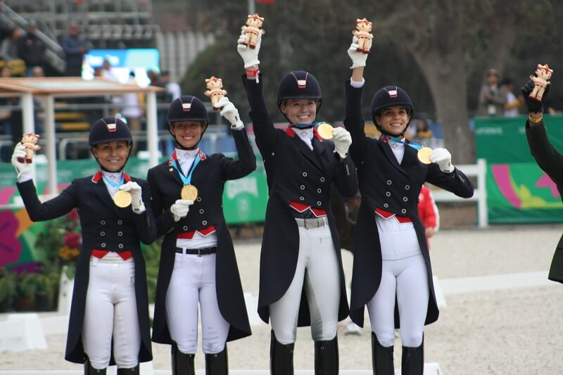 Thumbnail for A Golden Day for Canada's Dressage Team in Lima
