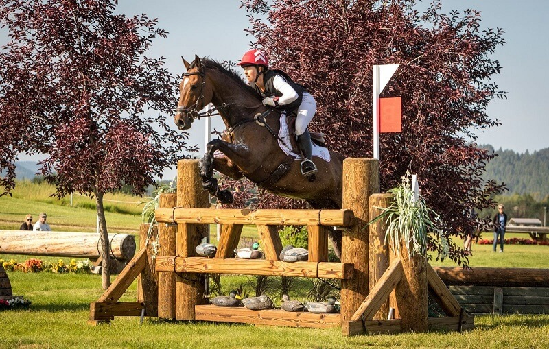 Thumbnail for NAYC Day 2: Double Clear Cross-Country Performances for Canada