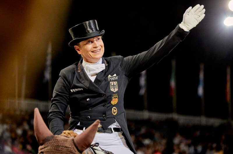 Thumbnail for Werth Wins Grand Prix Special at Dressage European Championships