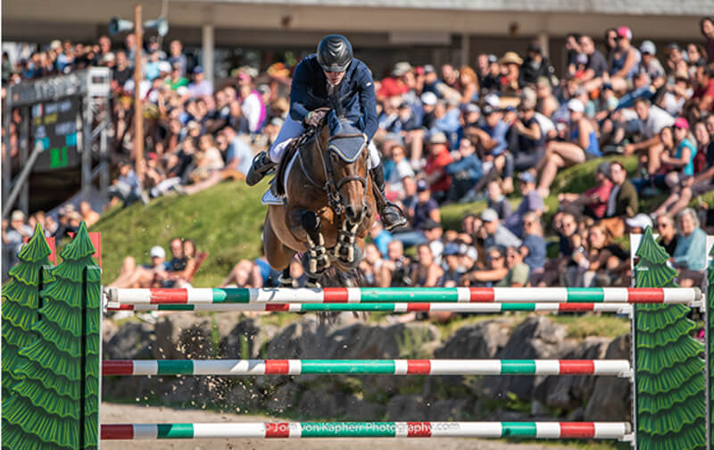 Thumbnail for Daniel Coyle Takes 1st and 2nd in International Bromont CSI3* Grand Prix
