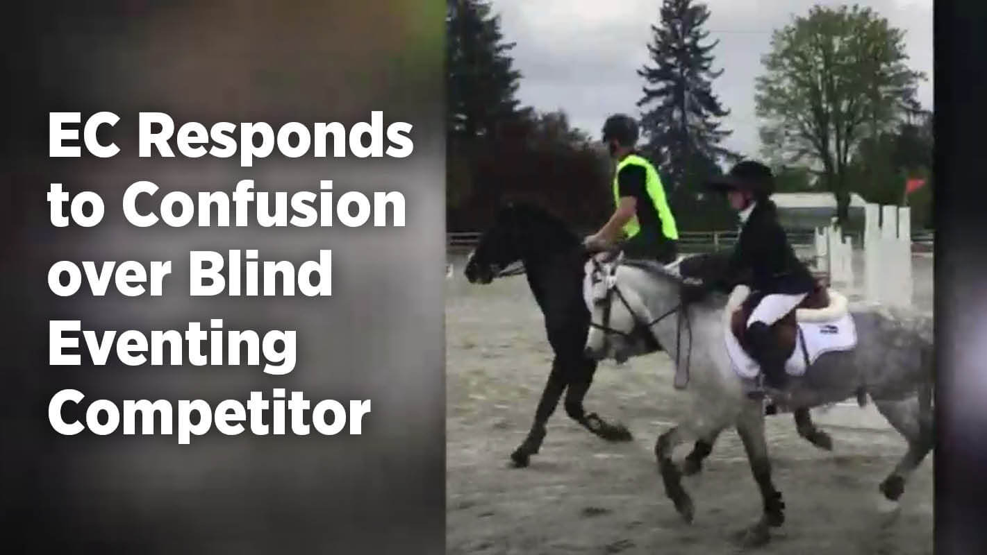 Thumbnail for EC Responds to Confusion over Blind Eventing Competitor
