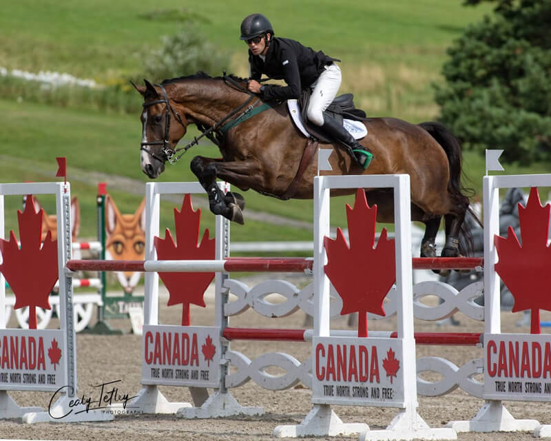 Thumbnail for Michael Nolan (IRL) takes the lead at Bromont CCI4*-S