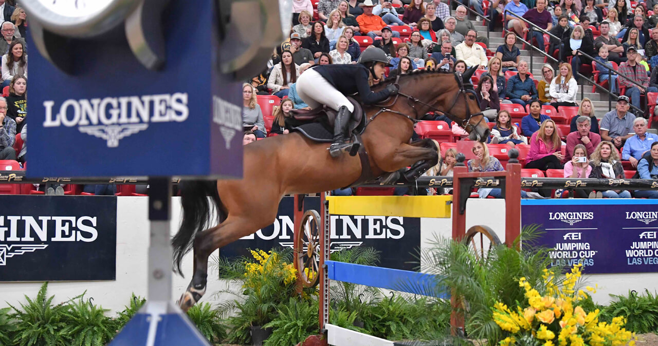 Adrienne Sternlicht records another Longines World Cup Win in Las Vegas
