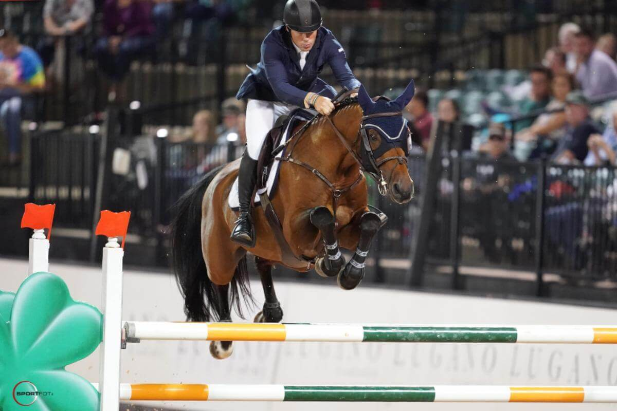 Thumbnail for Conor Swail rides GK Coco Chanel to victory in $134,000 Grand Prix at Tryon