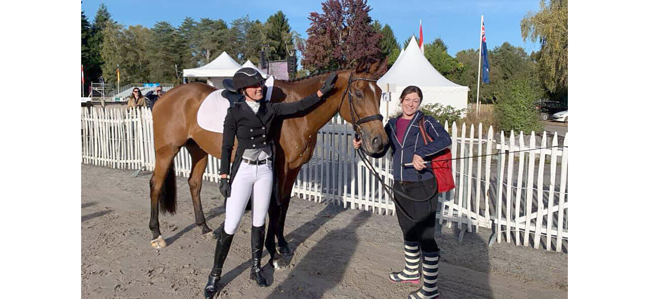 Thumbnail for Holly Jacks-Smither scores 5* personal best dressage with Morris at Pau