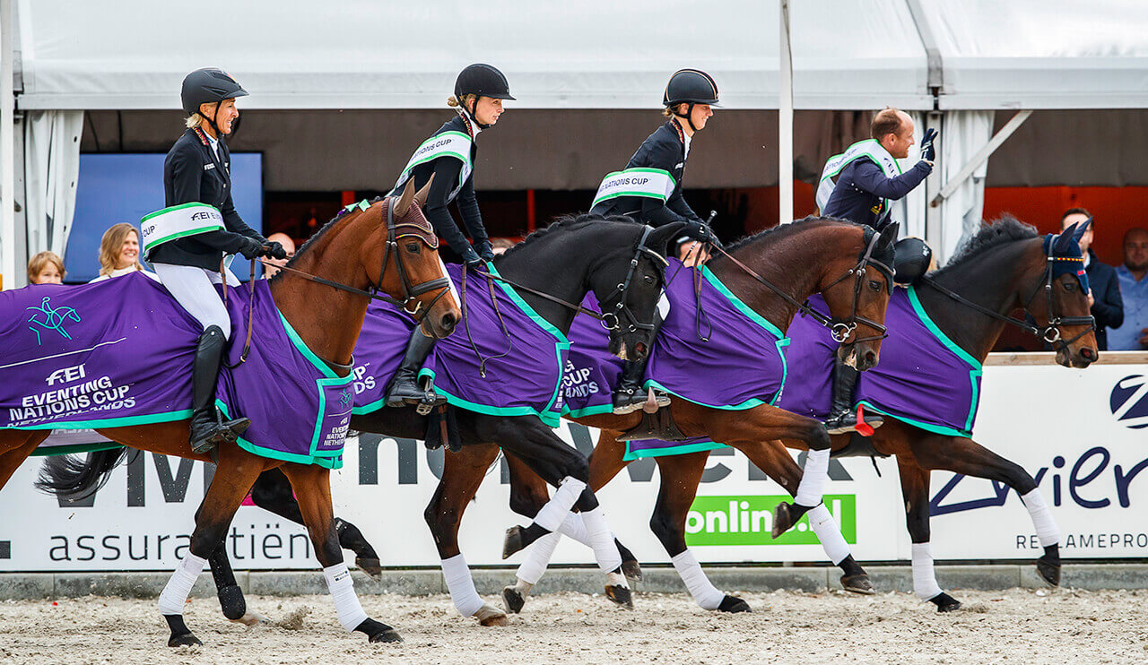 Thumbnail for Germany wins FEI Eventing Nations Cup Boekelo; Sweden take series title