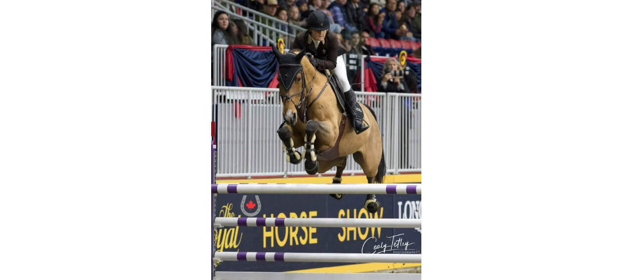 Barbara Ruziska is Best of the U25 Jumpers at the Royal Horse Show