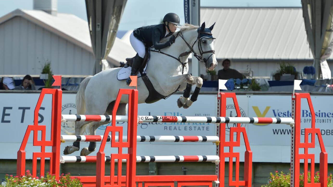 Thumbnail for Bronte Gray-Rochon Wins Show Jumping Hall of Fame Show Jumping Derby