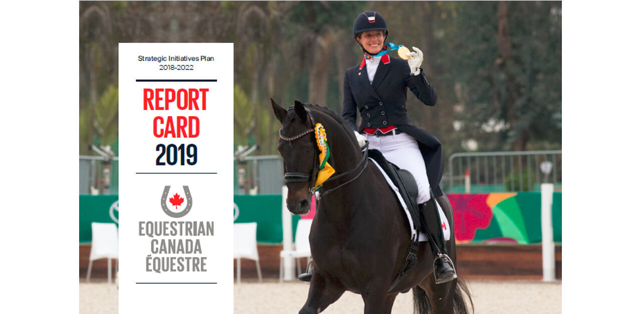 Thumbnail for Equestrian Canada Issues Its Own 2019 Report Card