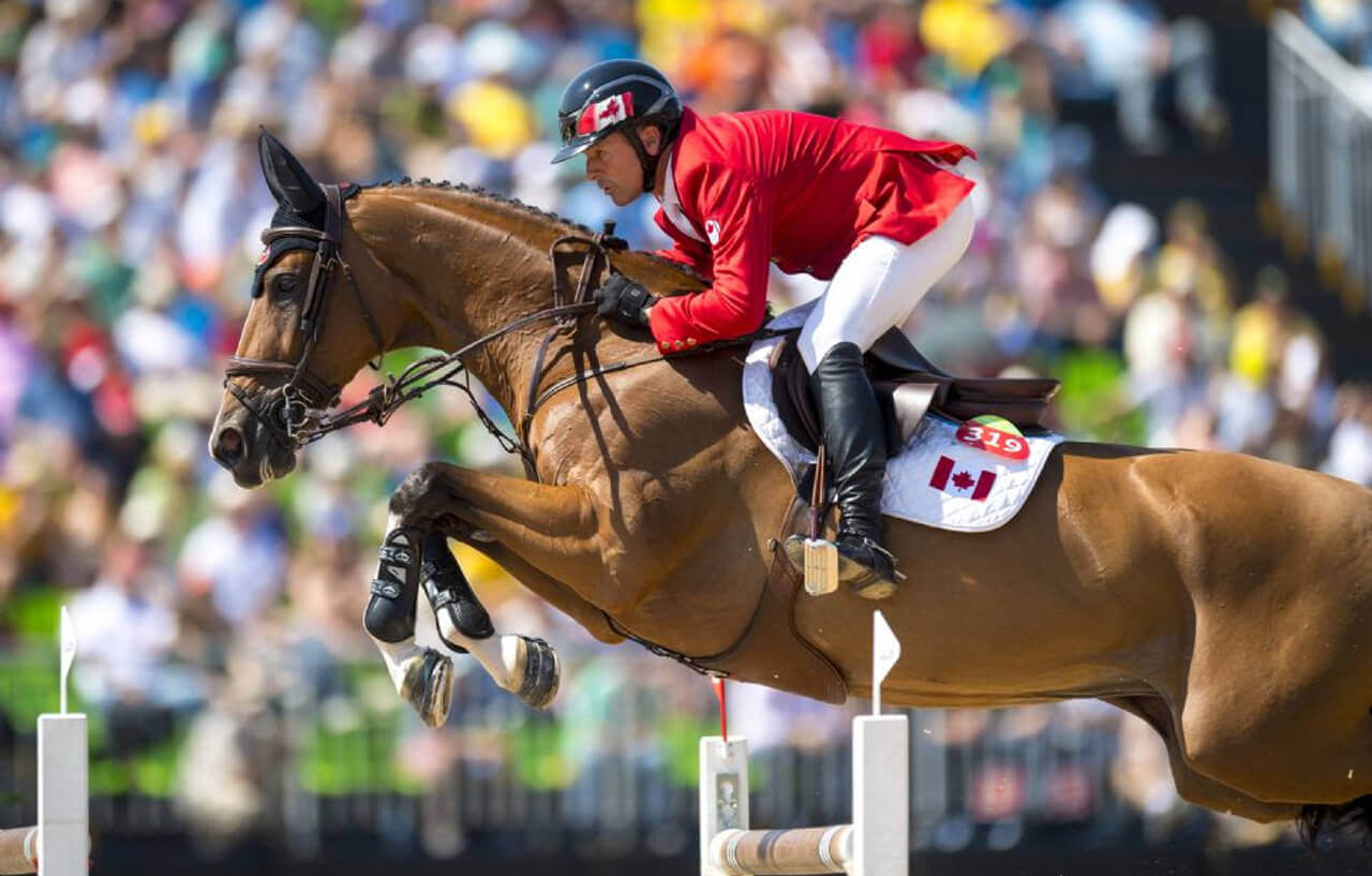 Thumbnail for Olympic Champion Eric Lamaze to Compete at Royal Horse Show