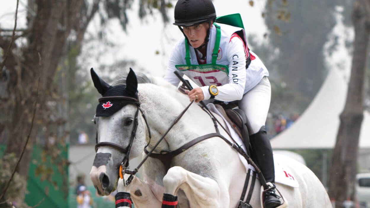 Thumbnail for Canadian Eventer Dana Cooke is Going Full Steam Ahead