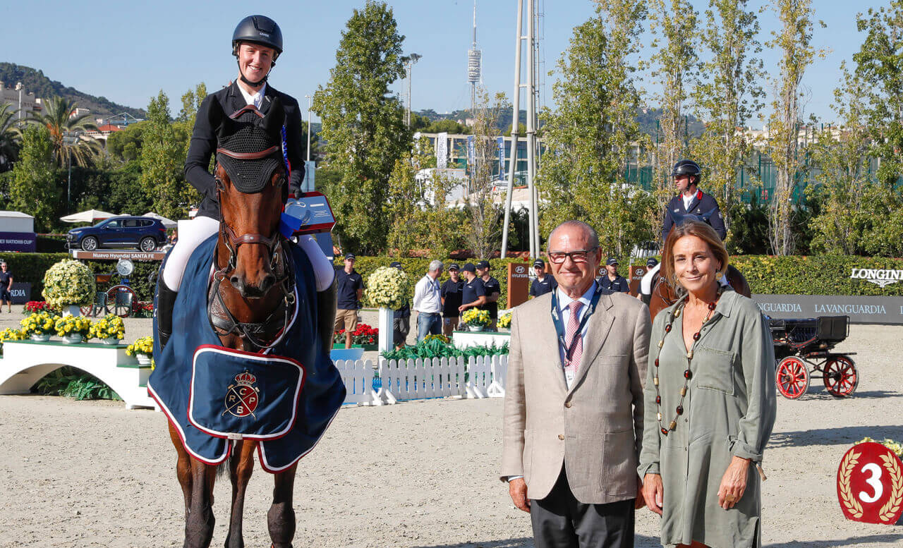 Thumbnail for Holly Smith and Denver win La Vanguardia Trophy at CSIO Barcelona