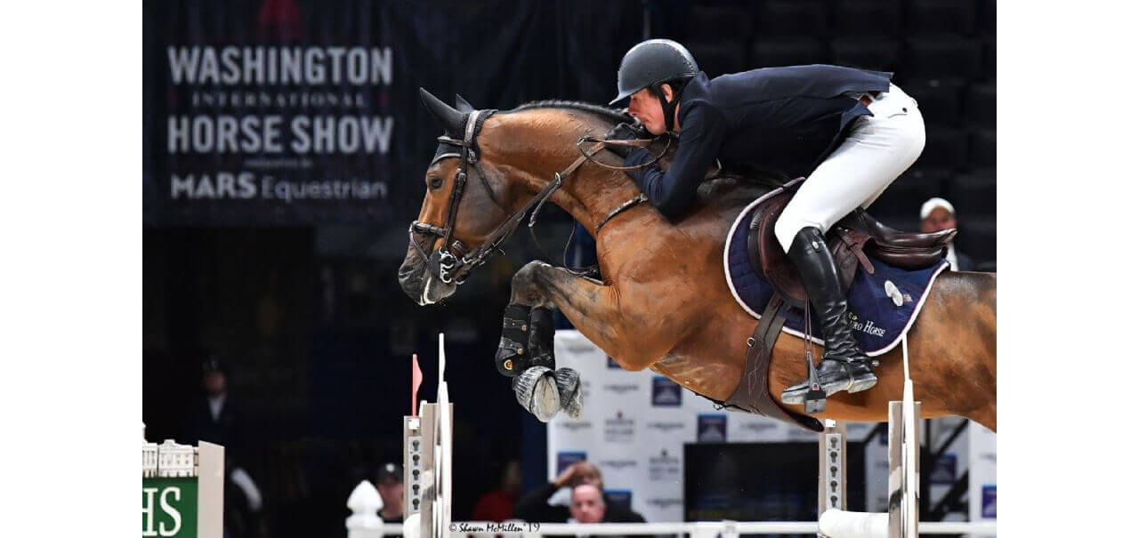 Thumbnail for Jos Verlooy takes $50,000 International Jumper Welcome Stake at WIHS