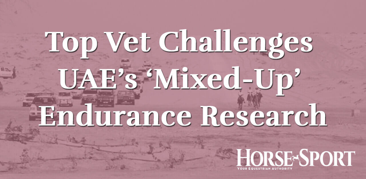 Thumbnail for Top Vet Challenges UAE's 'Mixed-up' Endurance Research