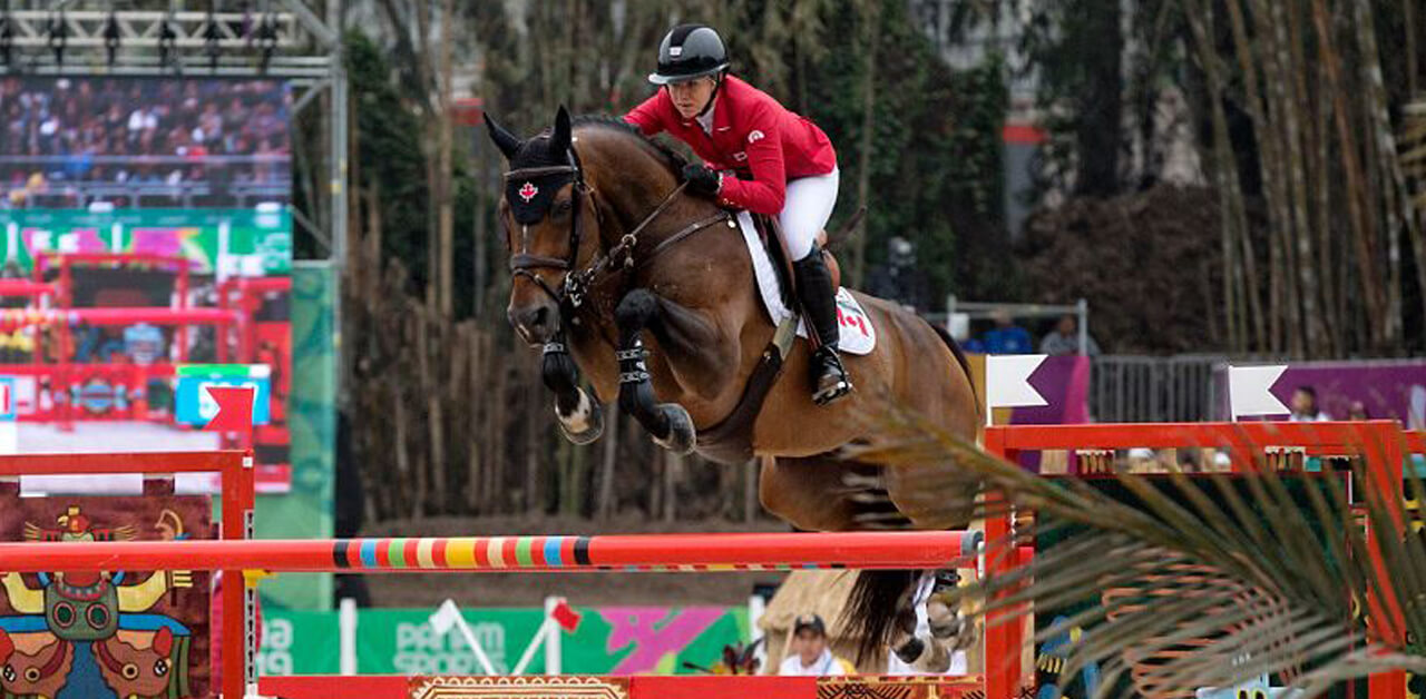 Thumbnail for Canadian Show Jumping Team Stands by Teammate Nicole Walker