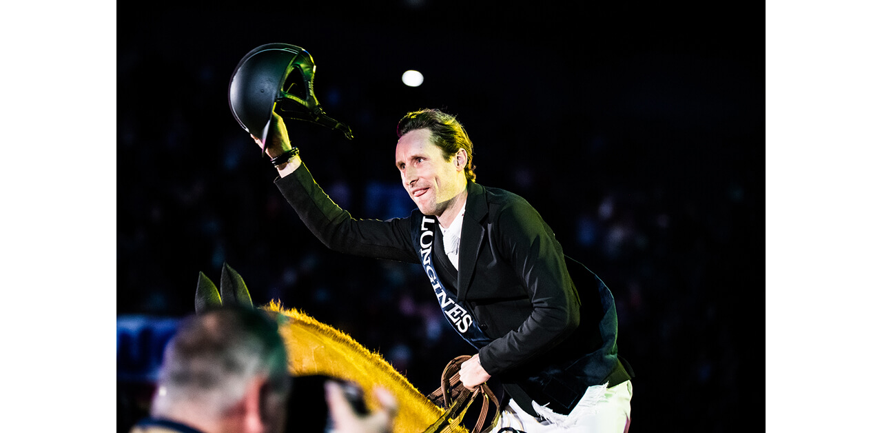 Thumbnail for Pieter Devos Scores Longines Jumping Win in Stuttgart