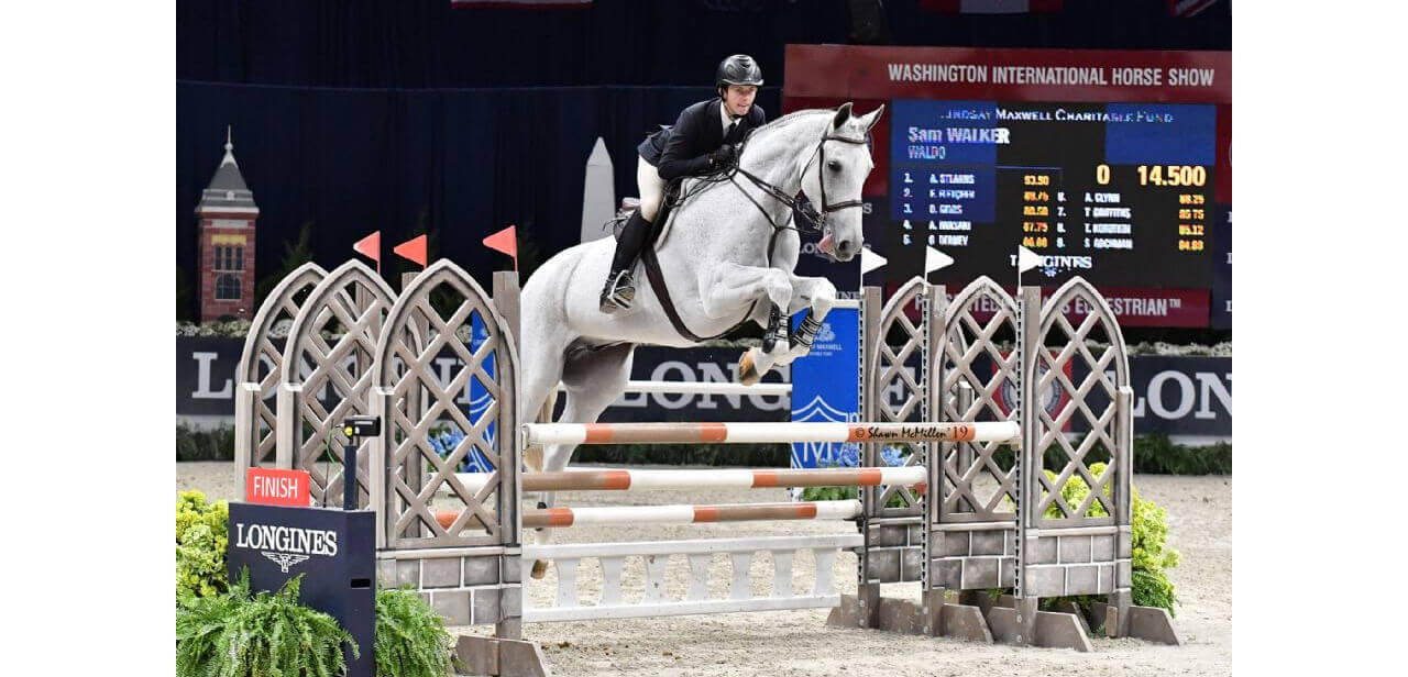 Thumbnail for Sam Walker becomes first Canadian to win WIHS Equitation Finals