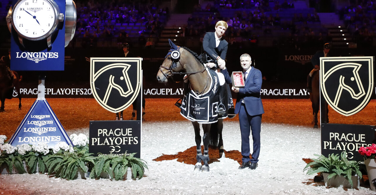 Thumbnail for France's Titouan Schumacher grabs first CSI5* victory in Prague