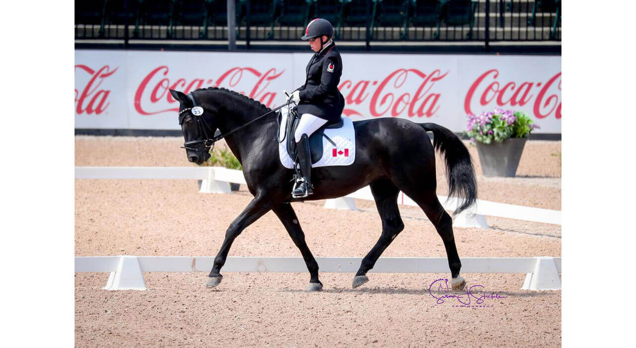 Thumbnail for Canadians claim top spot in two CPEDI 3* Freestyles at Tryon