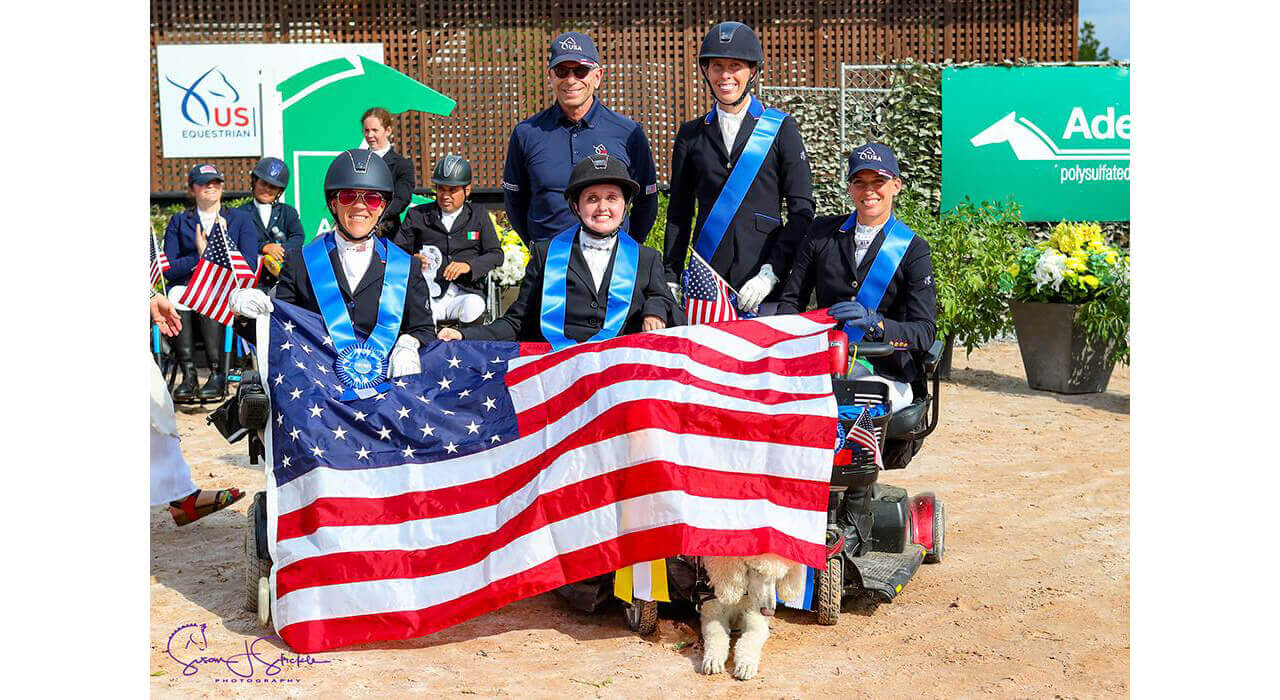Thumbnail for Team Canada places second to USA at Tryon Para-Dressage Championship