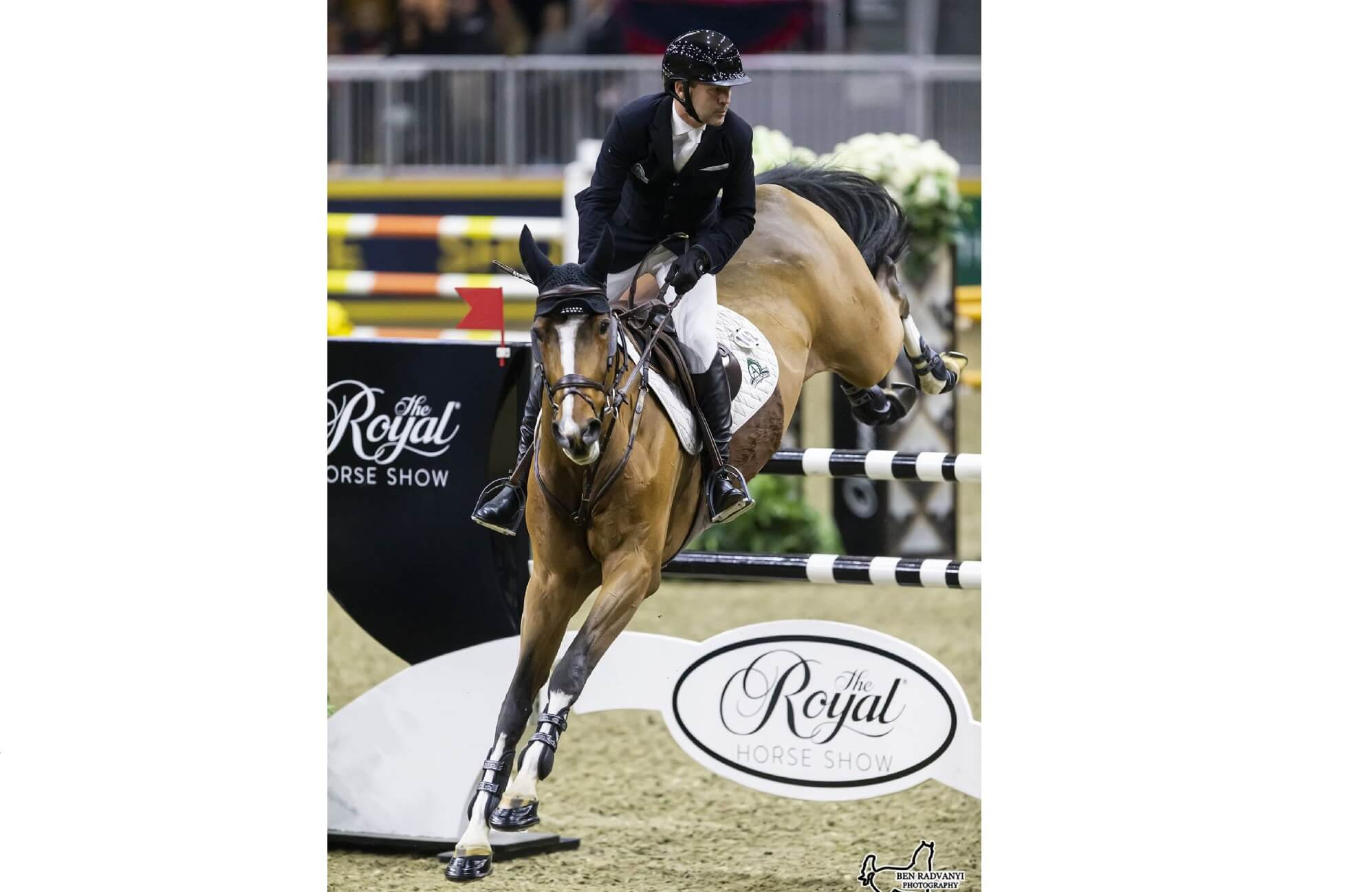 Thumbnail for Eric Lamaze Aces first International Class at Royal Horse Show