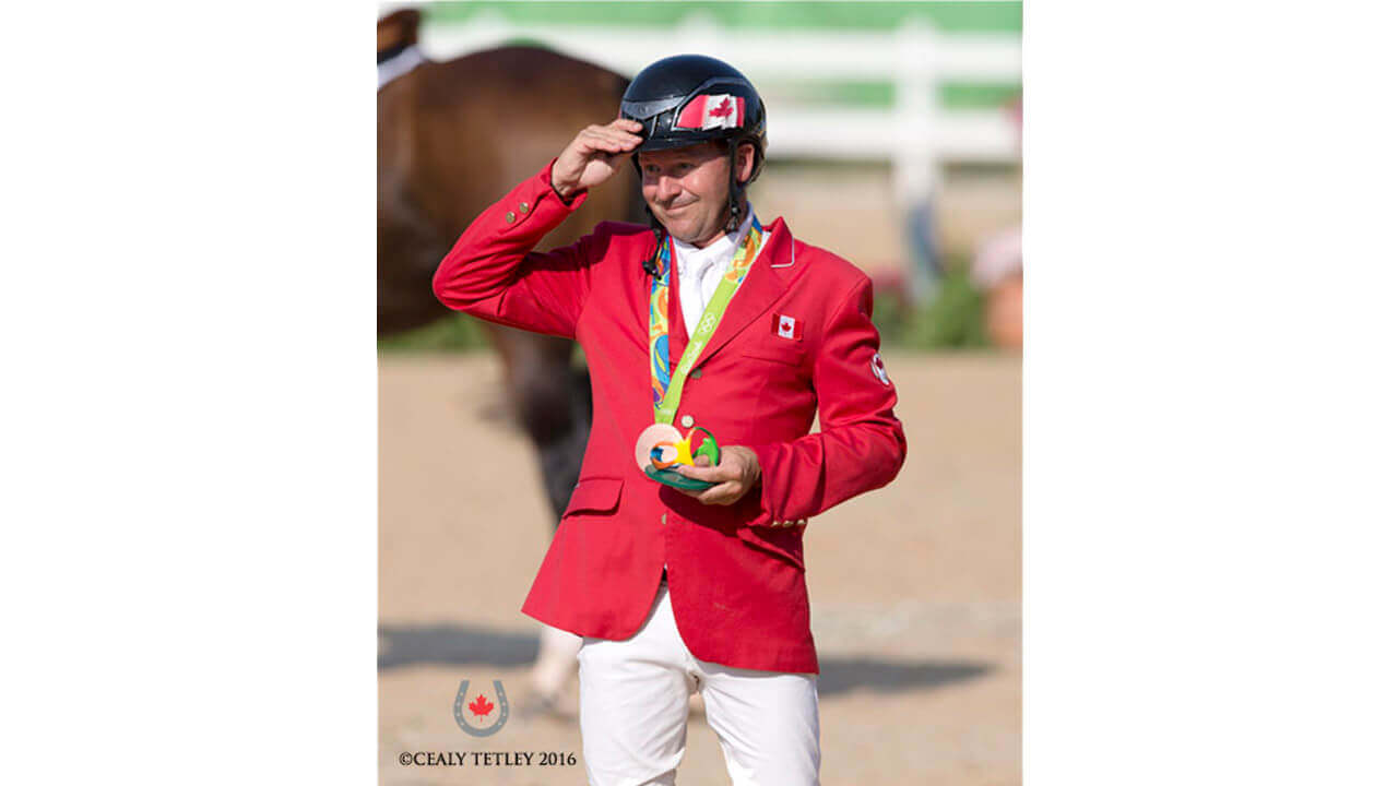 Thumbnail for Eric Lamaze speaks out about 2020 Olympic team jumping format