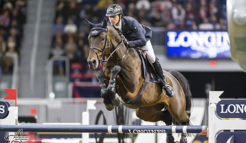 Thumbnail for Olympic giants battle in Big Ben Challenge at Royal Horse Show