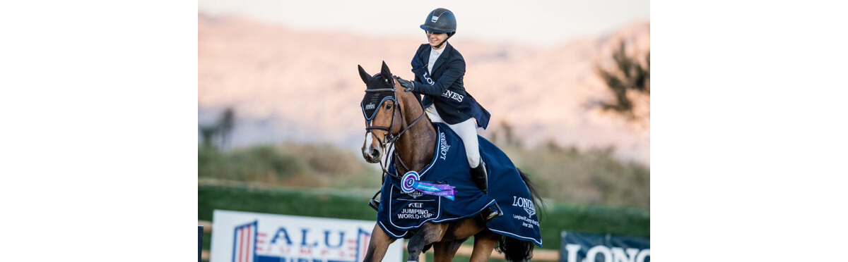 Adrienne Sternlicht and Bennys Legacy win $100,000 World Cup Thermal