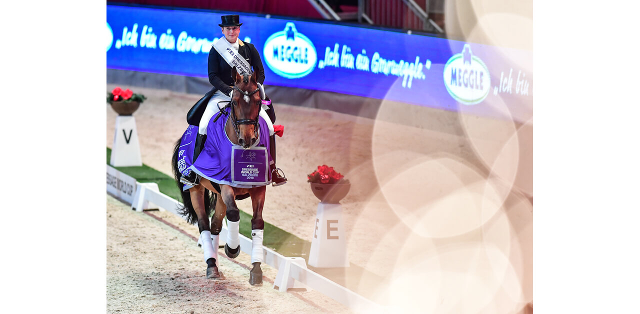Isabell Werth Claims Salzburg Dressage World Cup Qualifier