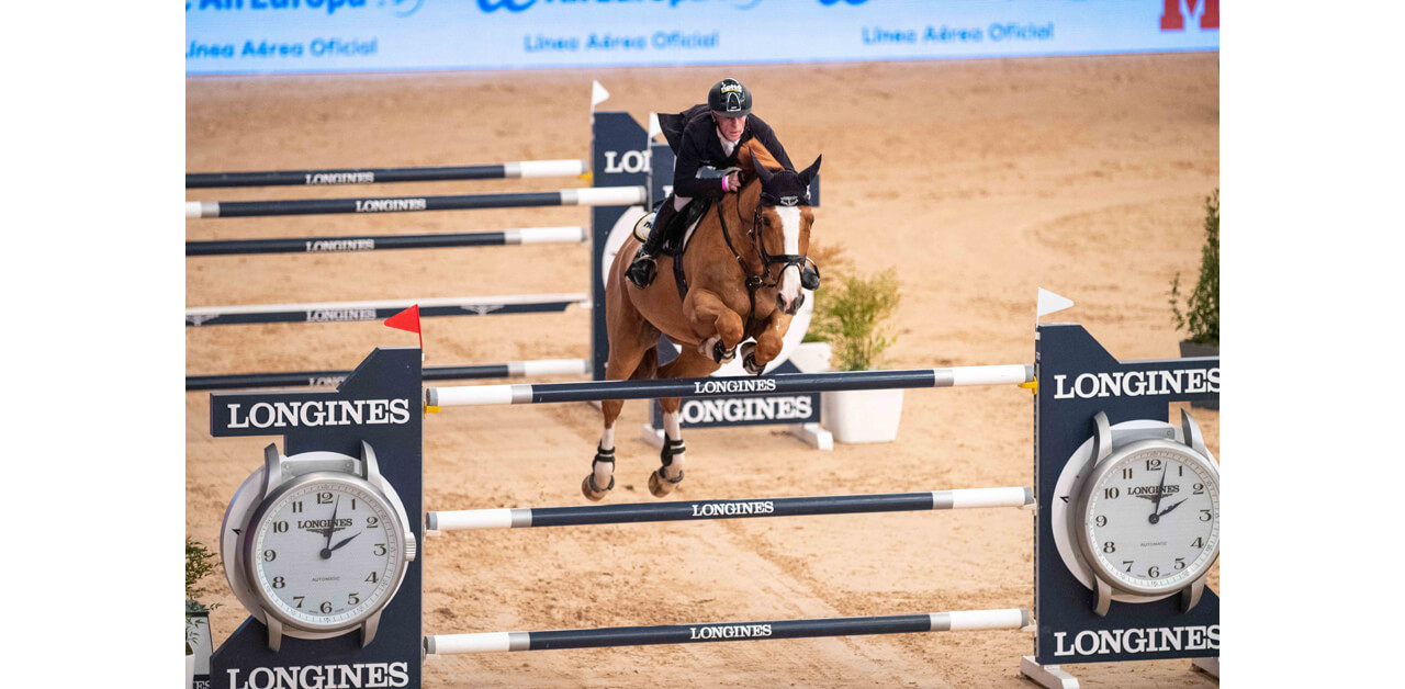 Thumbnail for Marcus Ehning Tops Longines Madrid Leg Aboard Pret a Tout