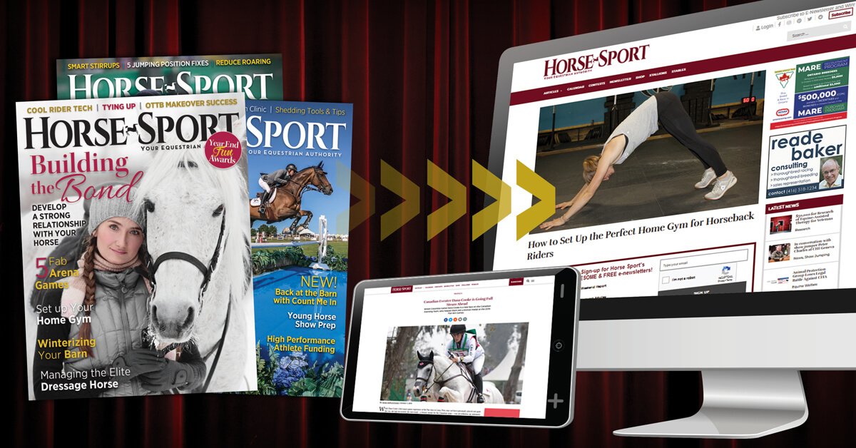 Thumbnail for Horse Sport Magazine Goes Digital Only in 2020