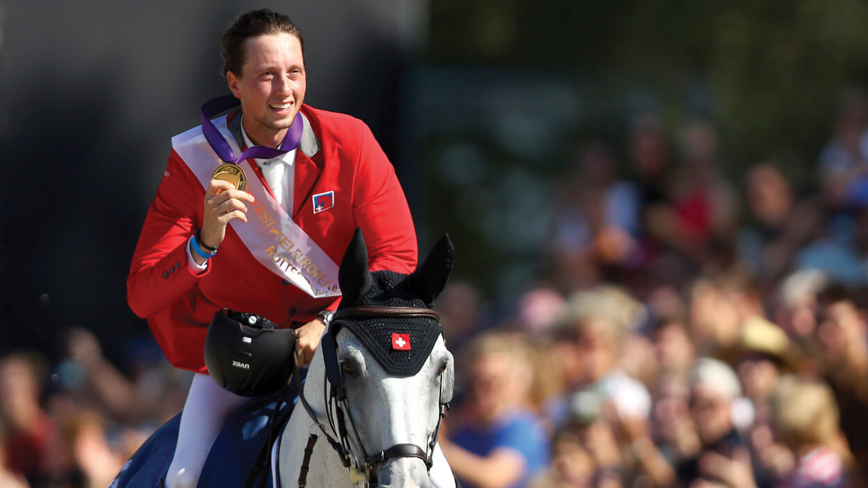 Thumbnail for Swiss Show Jumper Martin Fuchs Has Golden Goals